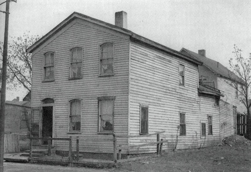 J. C. Newman's Home in Cleveland