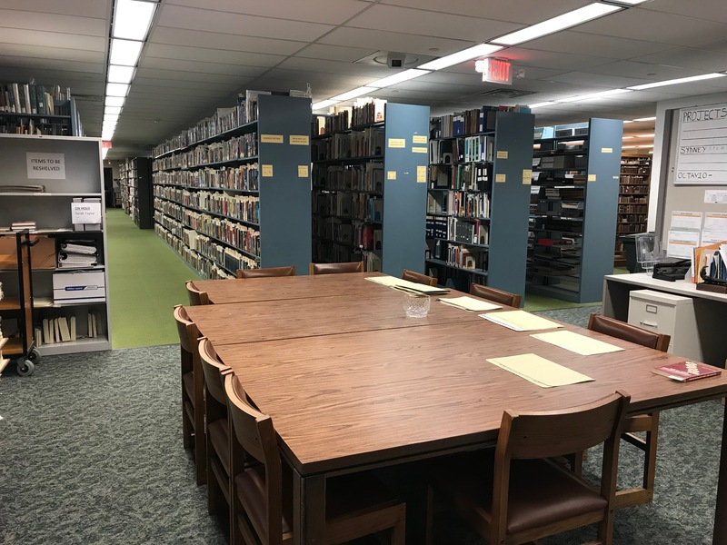 USF Special Collections archive interior
