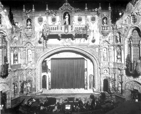 Stage of the Tampa Theatre