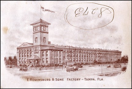 Print of The Regensburg Factory, Circa 1950