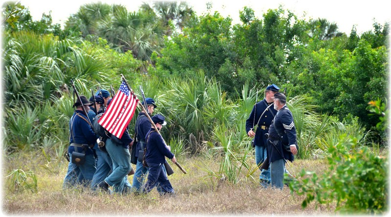 Union Army on the Move in Tampa Bay