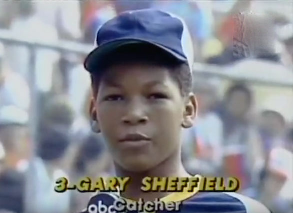 Gary Sheffield in the Little League World Series